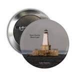"East Charity Shoal Light 2.25"" Button"