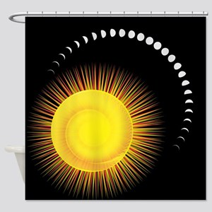 Measuring Time Shower Curtain
