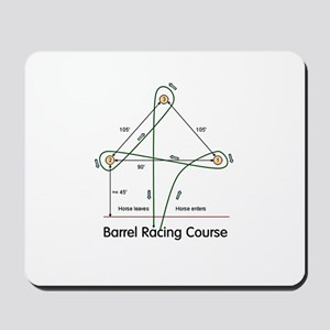 Barrel Racing Mousepad