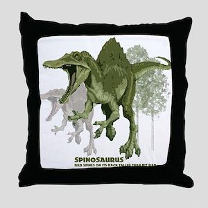 spinosaurus Throw Pillow