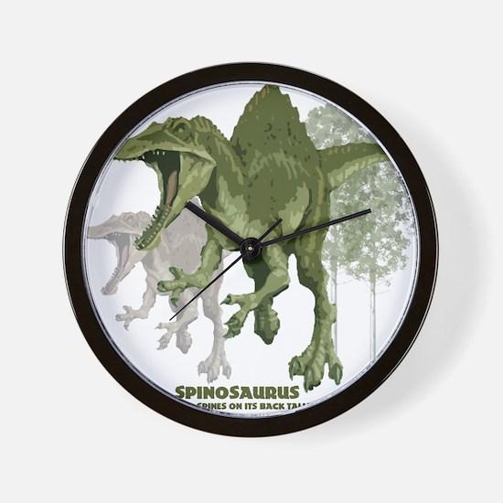 spinosaurus.jpg Wall Clock