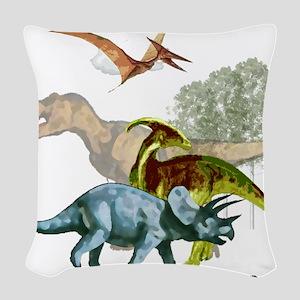 cretaceous Woven Throw Pillow