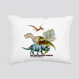 cretaceous Rectangular Canvas Pillow