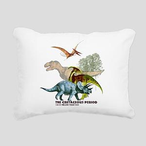 cretaceous Rectangular Canvas Pillow