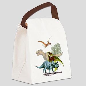 cretaceous Canvas Lunch Bag