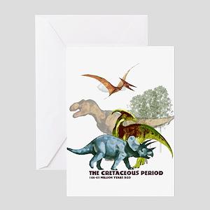 cretaceous Greeting Card