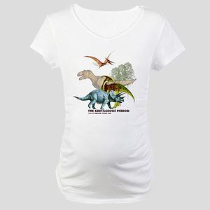 cretaceous Maternity T-Shirt