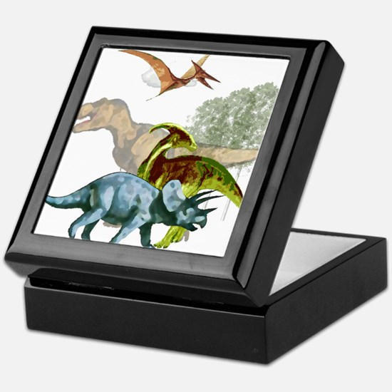 cretaceous.png Keepsake Box