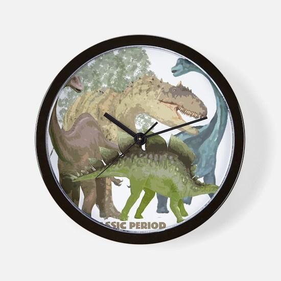 jurrassic.png Wall Clock