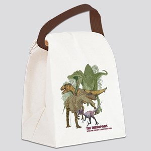 theropods Canvas Lunch Bag