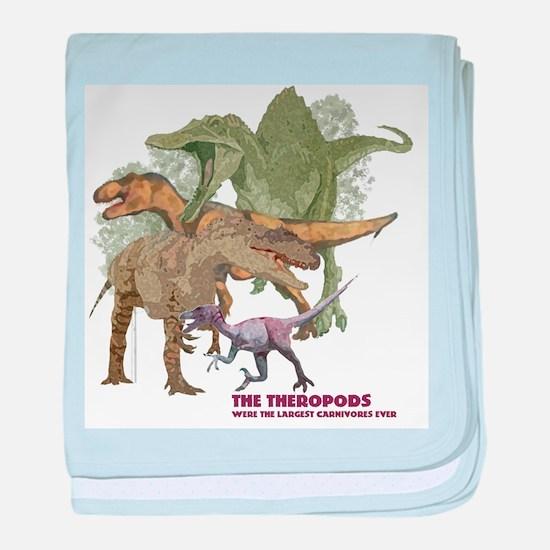 theropods.jpg baby blanket