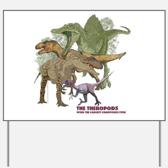 theropods.jpg Yard Sign