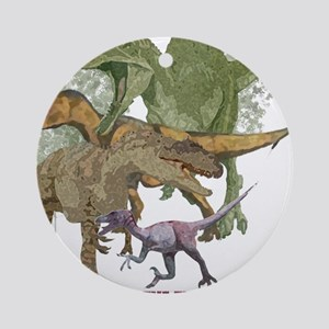 theropods Ornament (Round)