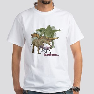theropods White T-Shirt
