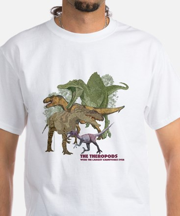 theropods.jpg White T-Shirt