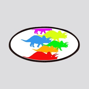 Triceratops Family Patches