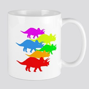 Triceratops Family Mug