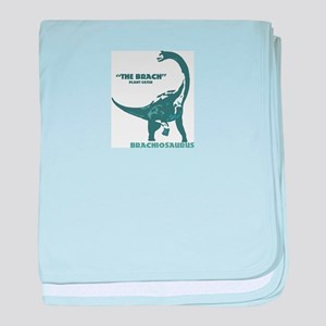 Brachiosaurus2 baby blanket