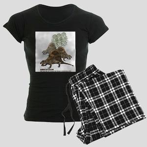 dimetrodon Women's Dark Pajamas
