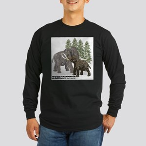 woolly mammoth Long Sleeve Dark T-Shirt