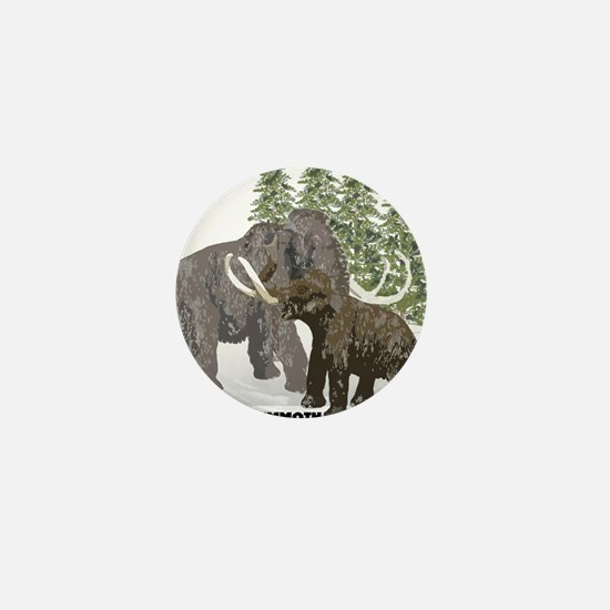 woolly mammoth.png Mini Button