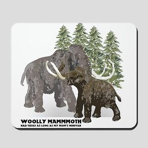 woolly mammoth Mousepad