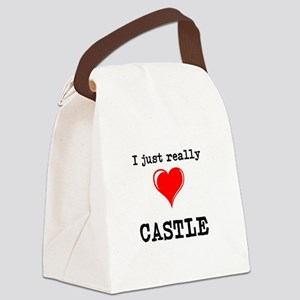 The Love for Castle Canvas Lunch Bag