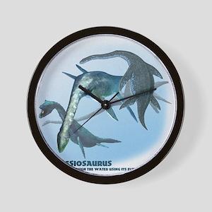 plesiosaurus.png Wall Clock