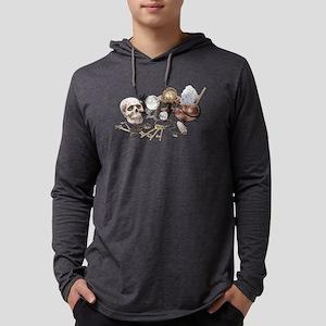 Skull_Keys_Witch_Desk_Items Long Sleeve T-Shirt
