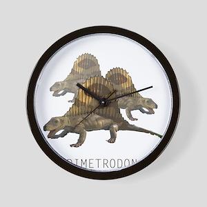 3-dimetrodon.png Wall Clock