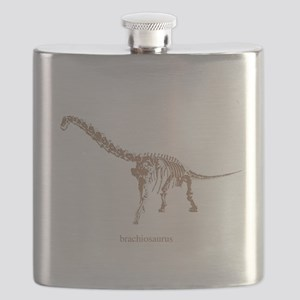 brachiosaurus skeleton Flask