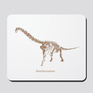 brachiosaurus skeleton Mousepad