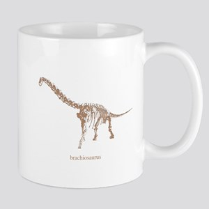 brachiosaurus skeleton Mug