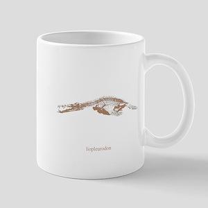 liopleurodon skeleton Mug
