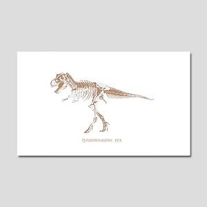 t rex skeleton Car Magnet 20 x 12