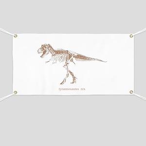 t rex skeleton Banner