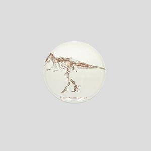 t rex skeleton Mini Button