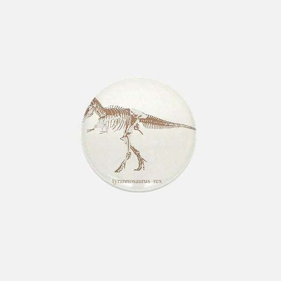 t rex skeleton.png Mini Button