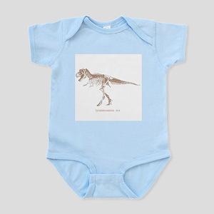 t rex skeleton Infant Bodysuit