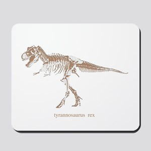 t rex skeleton Mousepad