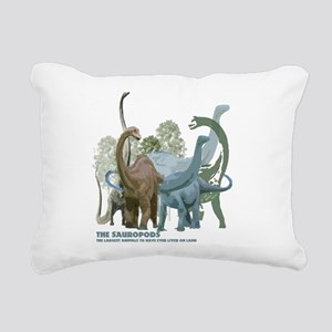 The Sauropods Rectangular Canvas Pillow
