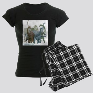 The Sauropods Women's Dark Pajamas