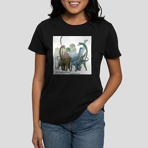 The Sauropods Women's Dark T-Shirt