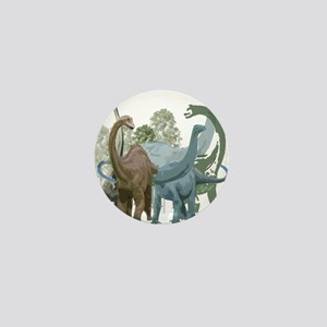 The Sauropods Mini Button