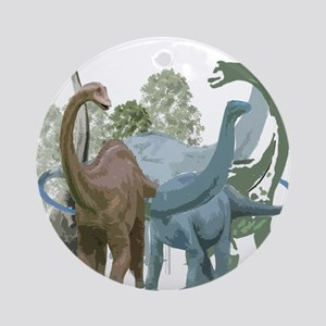 The Sauropods Ornament (Round)