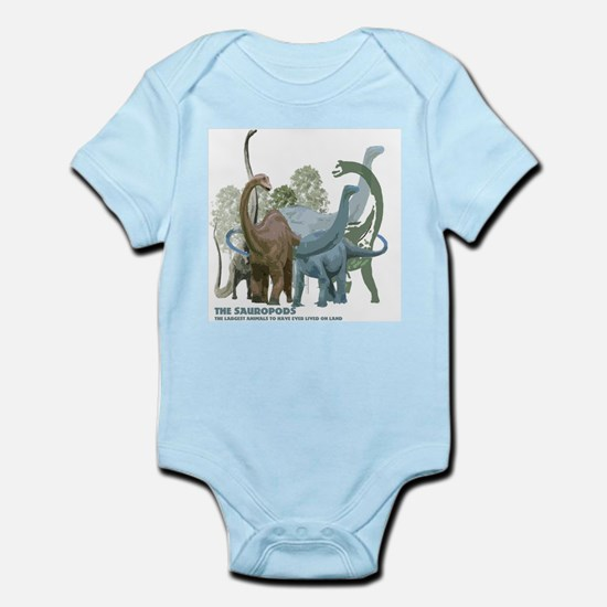 The Sauropods Infant Bodysuit
