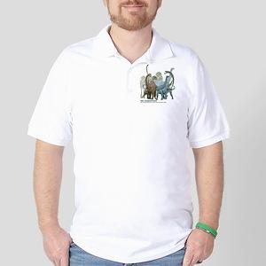 The Sauropods Golf Shirt
