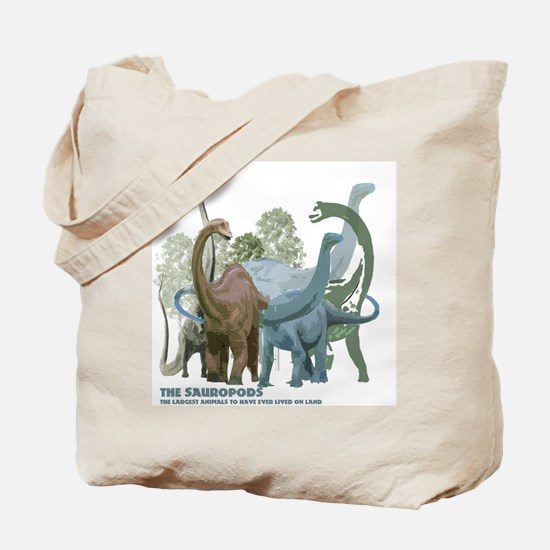The Sauropods Tote Bag
