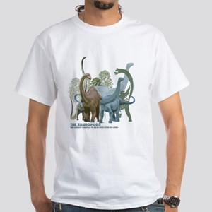 The Sauropods White T-Shirt