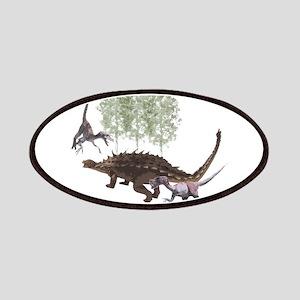 Velociraptor vs. Akylosaurus Patches
